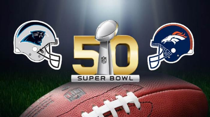 bronco panthers superbowl 50